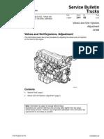 Valves and Unit Injectors, Adjustment
