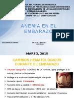 Anemia en El Embarazo JOSE
