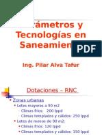Parámetros de Diseño y Tecnologías