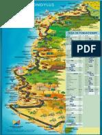 Mapa Ruta Del Spondylus