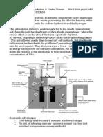 Unit 2 Mod 3 Chlorine and Sulphuric Acid Production[1]