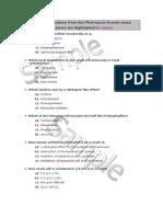 Moh-uae- Pharmacy Exam q Example