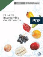 Guia de Intercambio de Alimentos 2014