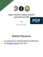 Materi Mandiri Sistem Dinamik