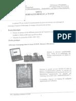 travaux pratique tcp/ip page 1