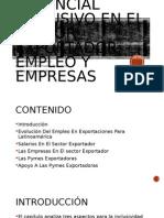 Potencial Inclusivo en El Sector Exportador