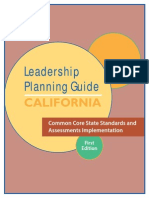 common core leadership planning guide