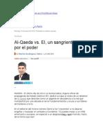 Al-Qaeda vs. EI, Un Sangriento Duelo Por El Poder
