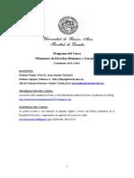 Programa y Objetivos Dd.hh. - 2015 (1)