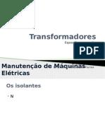Aula 05 - Transformadores - Equações e Ensaios