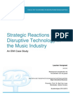 113 Laurien Verspreet_Strategic Reactions to Disruptive Technology in the Music Industry-An EMI Case Study