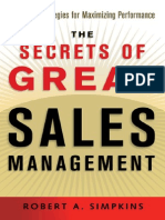 AMACOM - Robert A. Simpkins - The Secrets of Great Sales Management.pdf