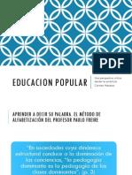 Educacion Popular