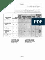Insomnia Symptom Questionnaire Instrument