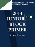 Juniors Primer Sem 2 2014-2015