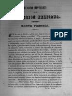 Cuadro Historico de La Revolucion Mexicana Tomo-I Carta 01