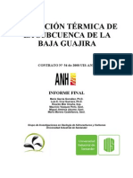 Evolucion Termica de La Baja Guajira