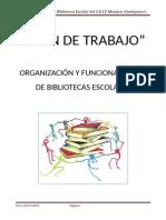PLAN de TRABAJO Biblioteca Ceip Mosaico 2014-2015 (1) (2) (1)