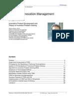 2008 TRIZ and Innovation Management