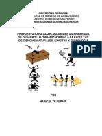 Programa de Desarrollo Organizacional FACINET-UP