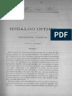 Hidalgo Intimo Parte-1