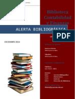 Alerta Bibliográfica Facultad Contabilidad y Finanzas UTP