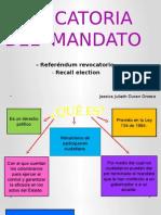 Revocatoria Del Mandato