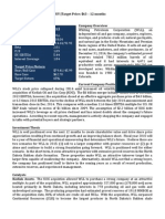 WLL Equity Report (3.12.2015)