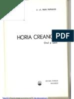 Horia Creanga, Omul Si Opera, Arh. Radu Patrulius