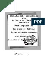 Ciencias Sociales y Sus Tecnologias Plan Especifico 2c2ba c