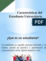 caracteristicas del estudiante universitario nayma