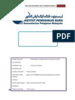 Assignment Bimbingan & Kaunseling