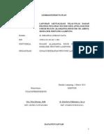 2. Lembar Pengesahan, Kata Pengantar, Daftar Isi Laporan Aktualisasi Dokter Umum Rumah Sakit
