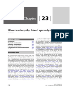 Chapter 23 - Elbow Tendinopathy »