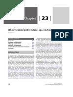 Chapter 23 - Elbow Tendinopathy»