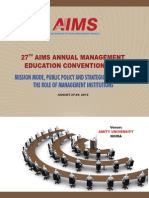 27th AIMS Annual Management Education Convention-2014.pdf