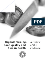 Organic Farming, Food Quality & Human Health