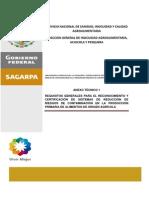 Anexo Técnico 1. Requisitos Generales Para La Certificación de SRRC. 30 Abril 2010 (1)