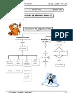 III BIM - 5to. Año - Guía 5 - Ecuaciones de Segundo Grado II