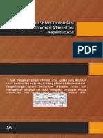 Implementasi Sistem Terdistribusi Untuk Sistem Informasi Administrasi Kependudukan
