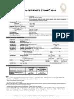 3510 Off White Gylon Data Sheet