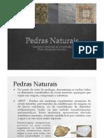 Aula 2 - Pedras Naturais - Slides 1 a 16