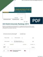 QS World University Rankings 2013 _ Top Universities