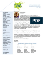 2015 Spring NWS Newsletter