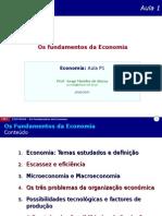 P01 Os Fundamentos Da Economia