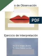 Ejercicio de Observación e Interpretación - Sintaxis
