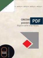 Constantin Noica - Povestiri Despre Om