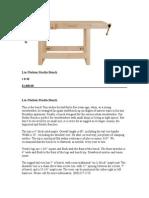 Lie-Nielsen Studio Bench