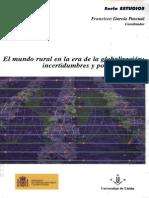 Kay Cristrobal_Los Paradigmas Del Desarrollo Rural en America Latina_El Mundo Rural en La Era de La Globalizacion