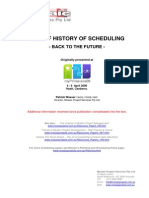 A Brief History of Scheduling. Back to the Future (2006) - Paper (19)